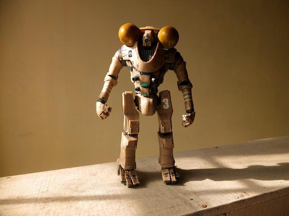 Robot Toy, Brave, Horizon, Pacific, Rim, Film, Video
