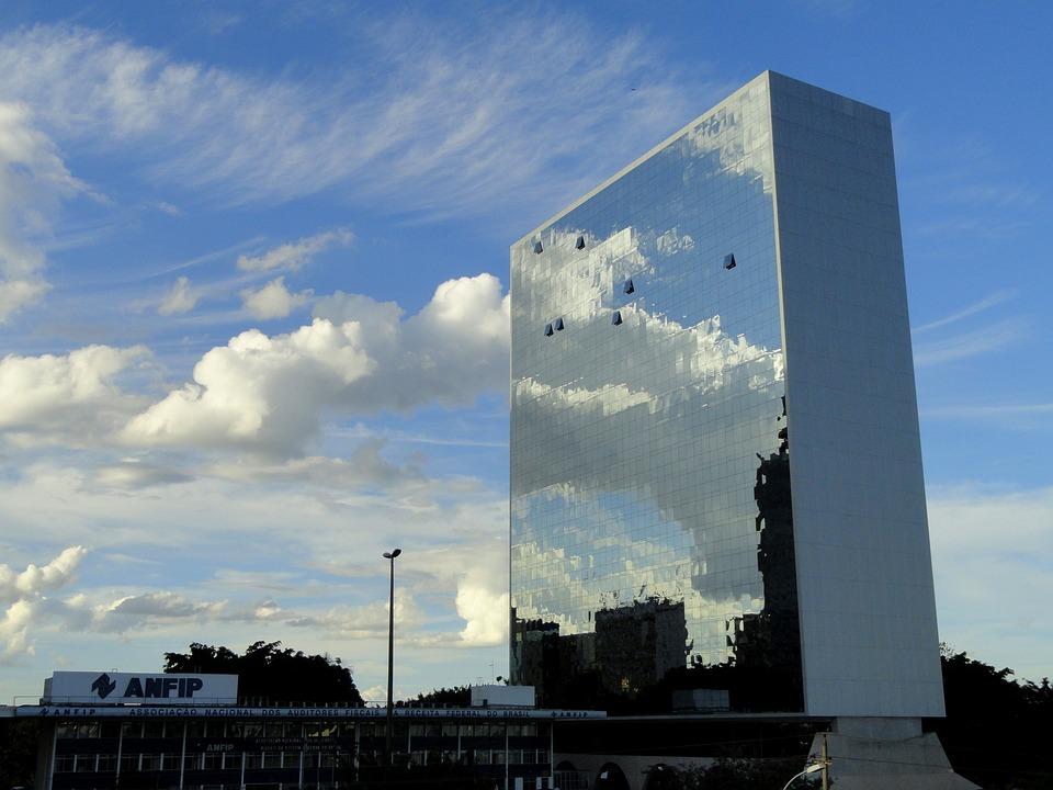 Auditores Fiscais, Skyscraper, Brazil, Building