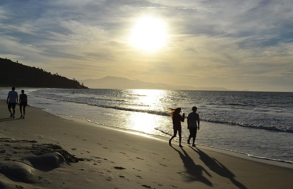 Beach, Eventide, Beira Mar, Holidays, Brazil, Quiet