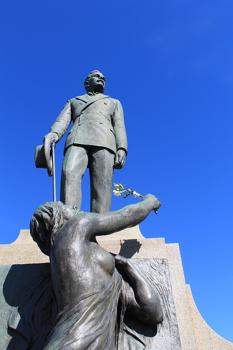 Hercílio Luz, Monument, Florianópolis, Brazil