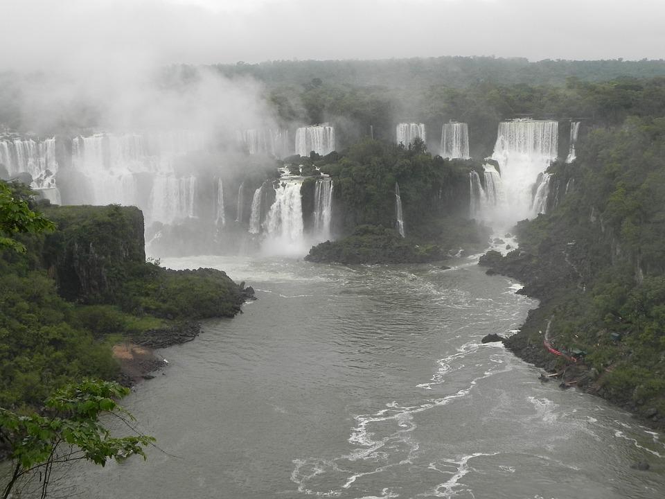 Iguazu Falls, Brazil, Paraná, The Iguaçu River