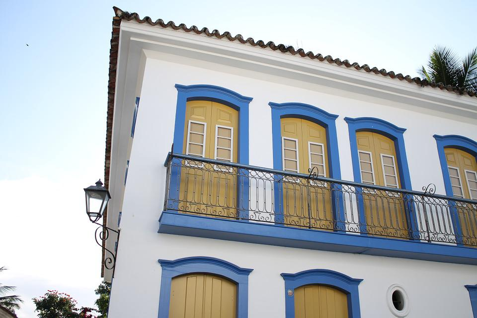 Paraty, Rj, Brazil, Historic Centre, Colonial