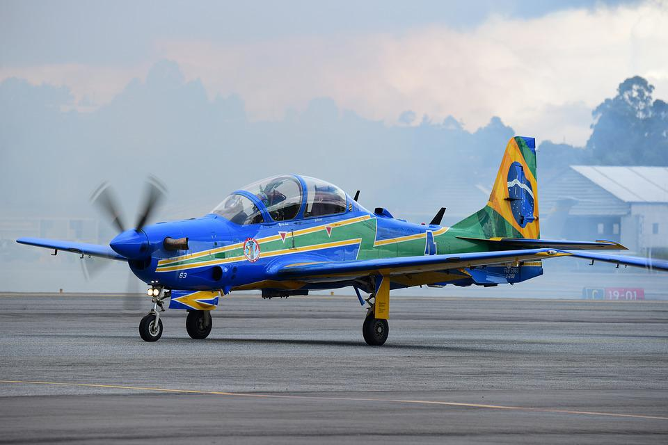 Smoke Squadron, Brazilian Air Force, Aircraft, Takeoff