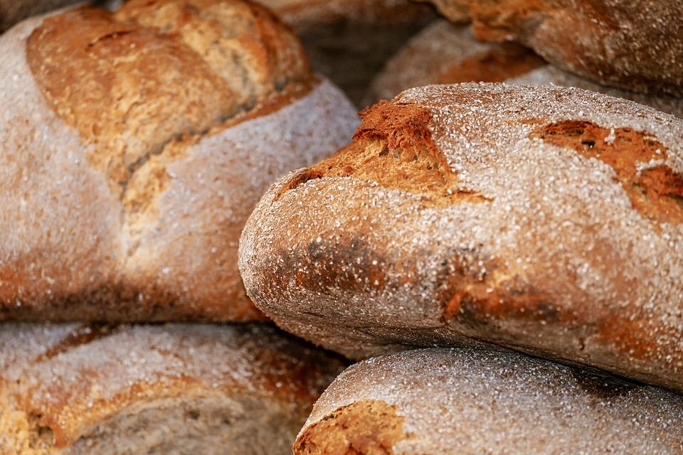 Bread, Loaf Of Bread, Fresh, Baked, Bread Crust, Crispy
