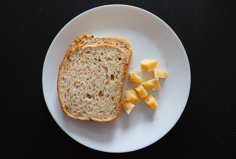 Whole Grain, Bread, Cheese, Italian Food, Breakfast