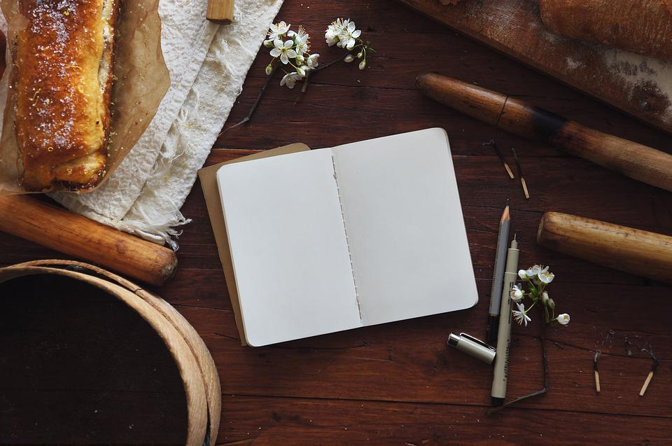 Book, Bread, Flora, Flowers, Food, Matches, Paper, Pen