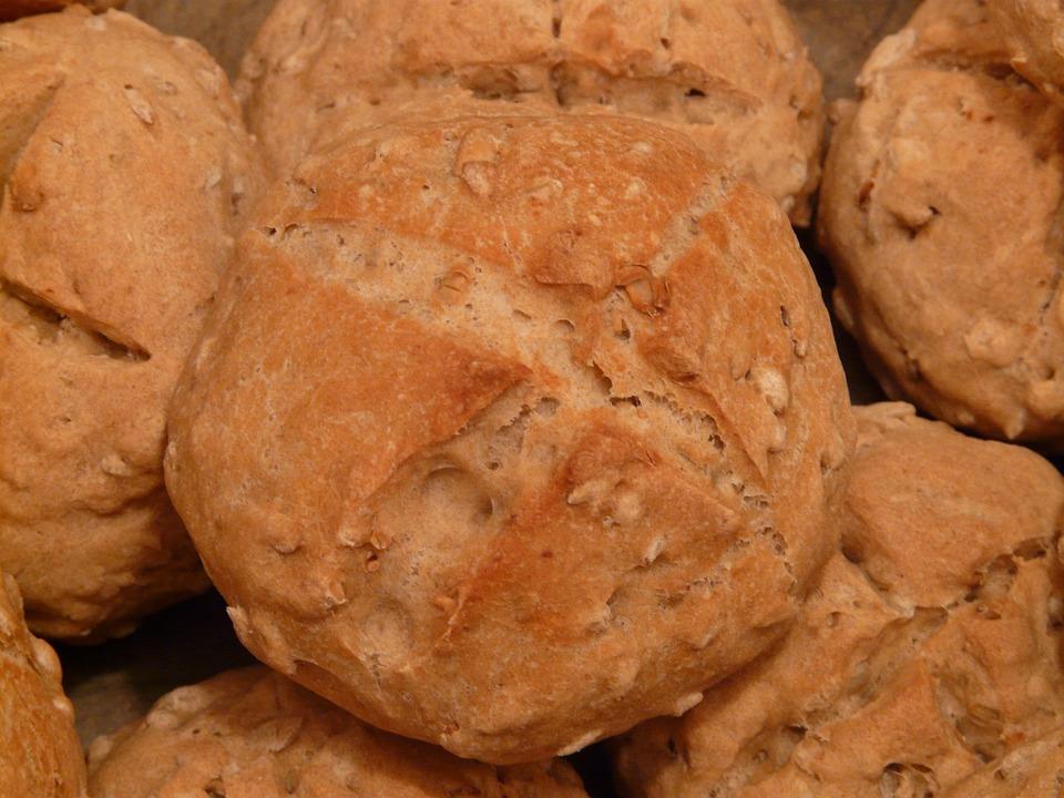 Roll, Arouse, Bread, Bake, Eat, Food, Homemade