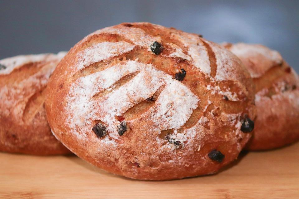 Bread, Food, Baked, Baked Goods, Dough, Homemade