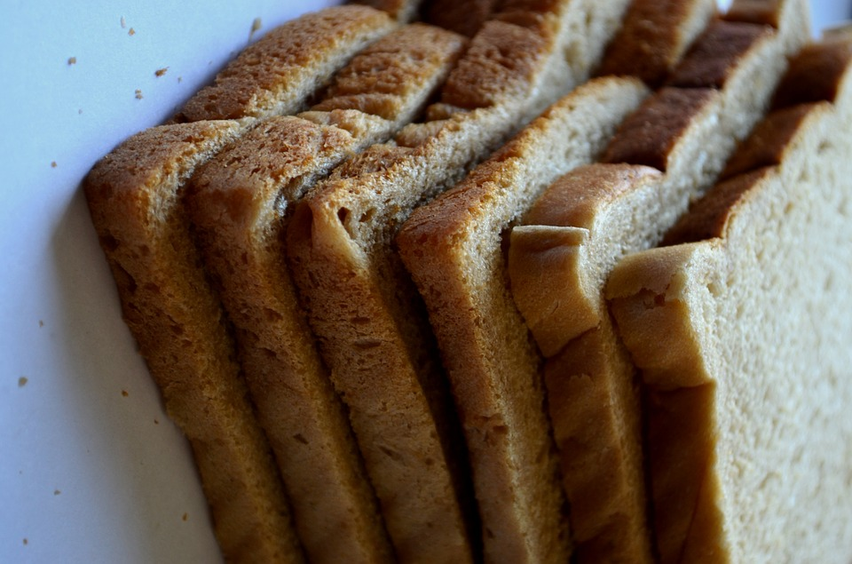 Bread, Stack, Slices, Bread For Toasting, Food