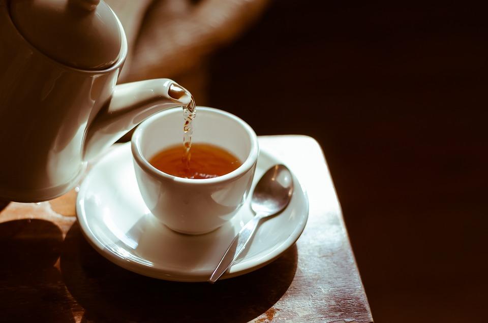 Tea, Hot, Cup, Table, Tea-time, Break, Herbal, Leaf