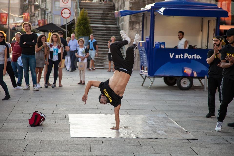 Breakdance, Move Your Body, Acrobatics, Stunt