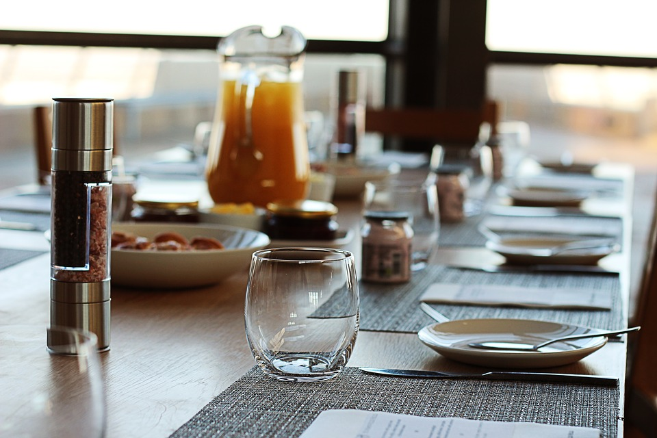 Breakfast, Banquet, Catering, Table, Meal, Restaurant