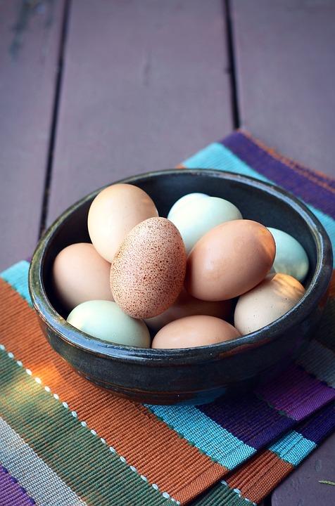 Eggs, Cage-free, Farm, Organic, Brown, Breakfast