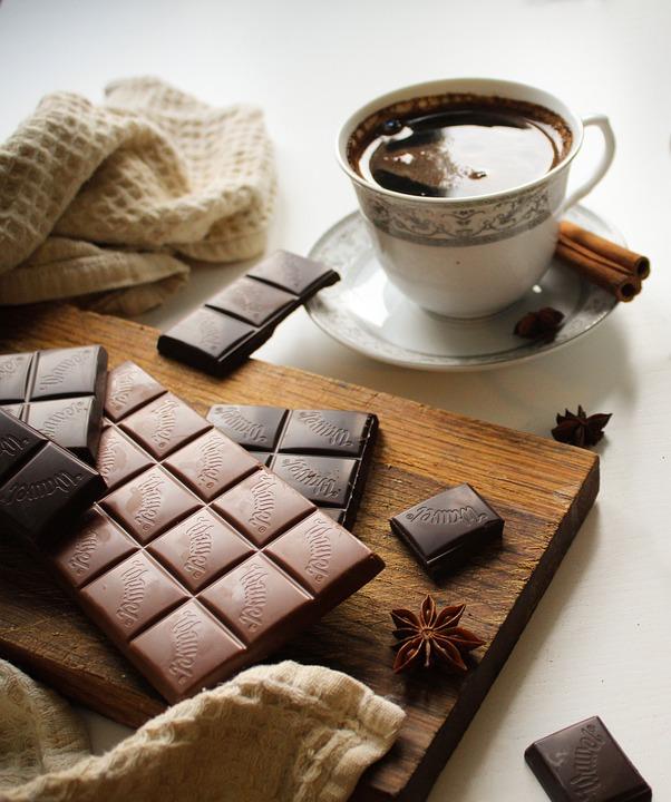 Coffee, Chocolate, Morning, Breakfast, Sweets