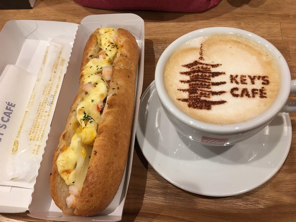 Coffee, Breakfast, Hot Dog