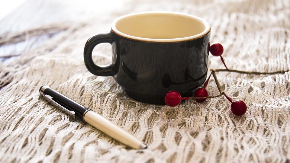 Office, Tea, Cup, Coffee, Autumn, Cafe, Breakfast