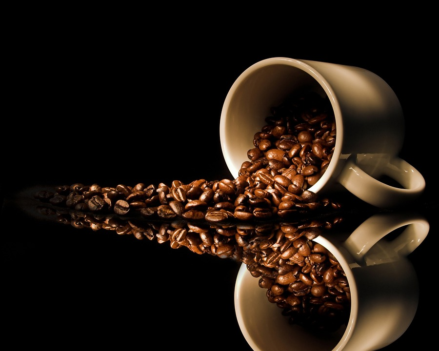 Seeds Of Roasted Coffee, Coffee, Cup, Breakfast