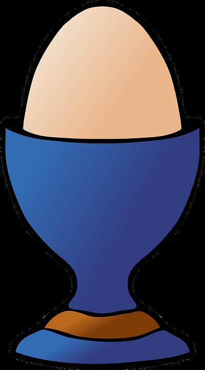 Eggcup, Egg, Food, Breakfast, Yolk, Meal, Morning