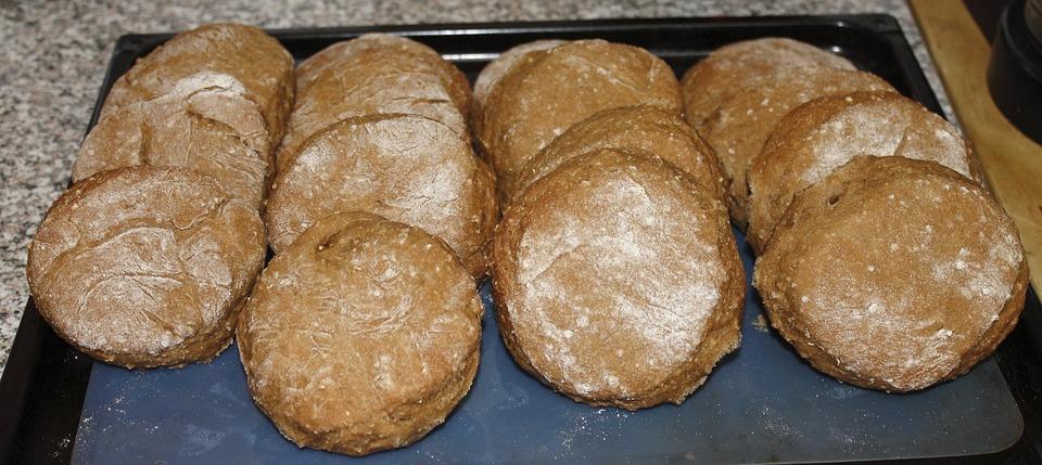 Breakfast, Loaf, Roll, Food, Eat, Flour, Bakery