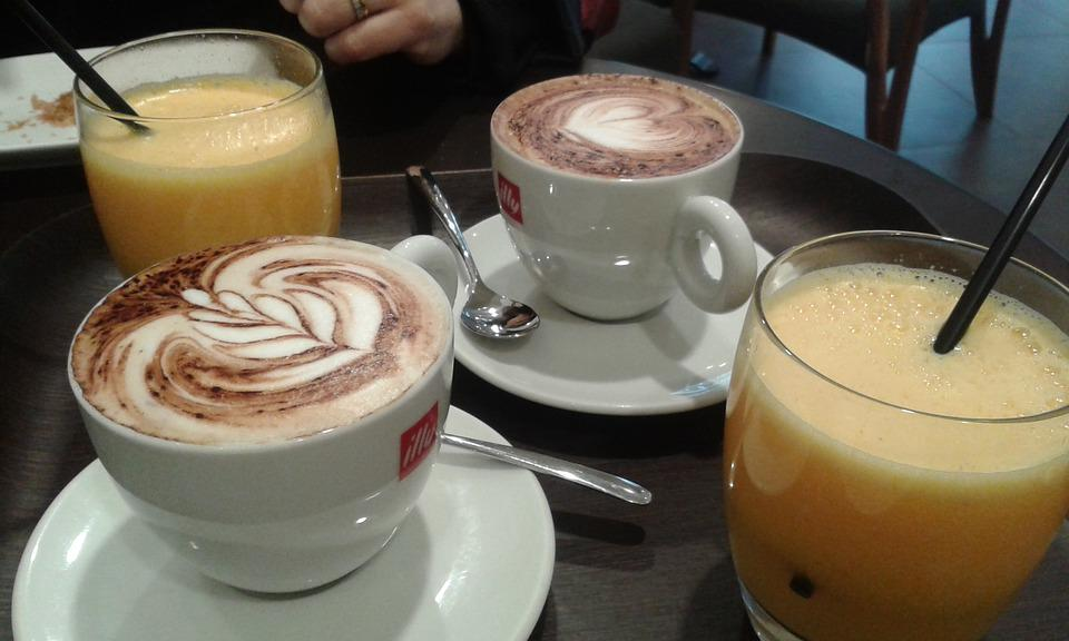 Breakfast, Capuccino, Good Morning
