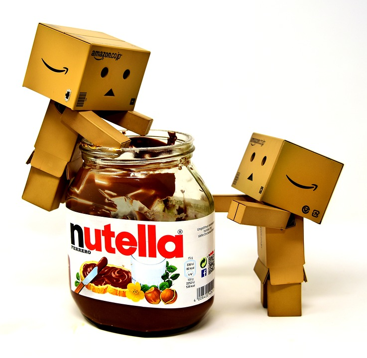 Nibble, Nutella, Danbo, Figures, Funny, Breakfast