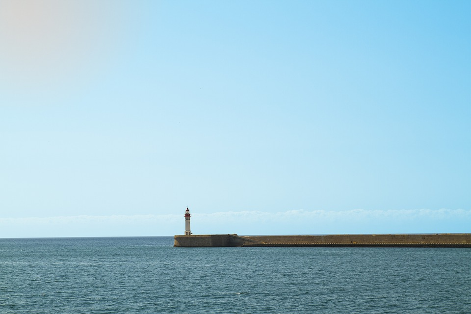 Lighthouse, Breakwater Harbor, Almeria