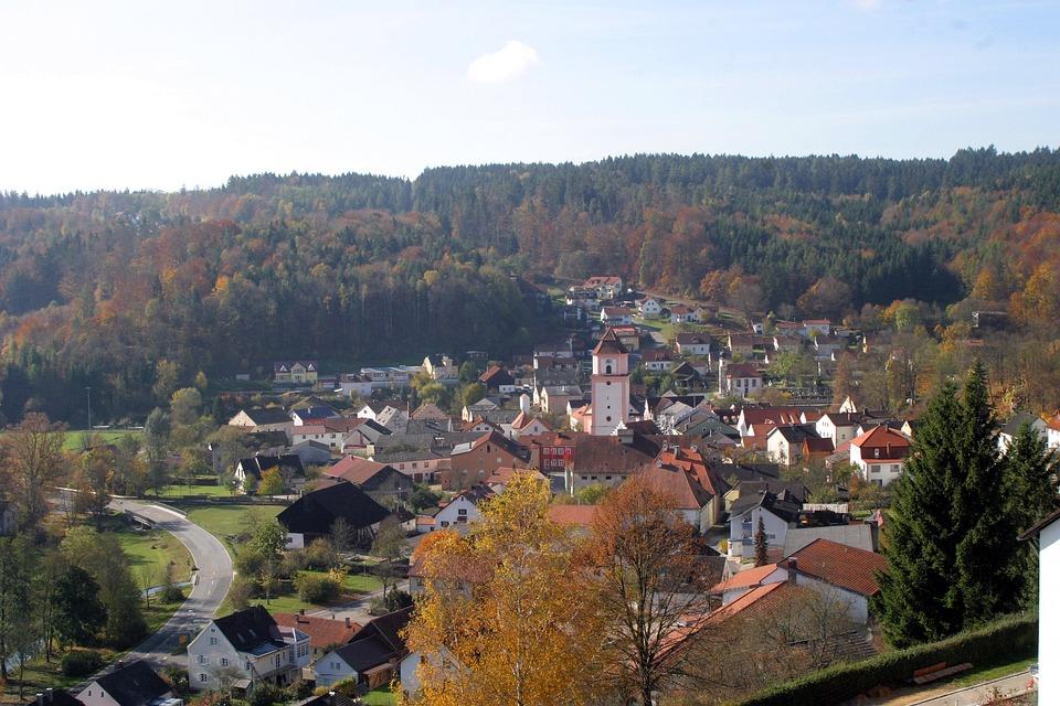 Market Town, Breitenbrunn, Altmühl Valley