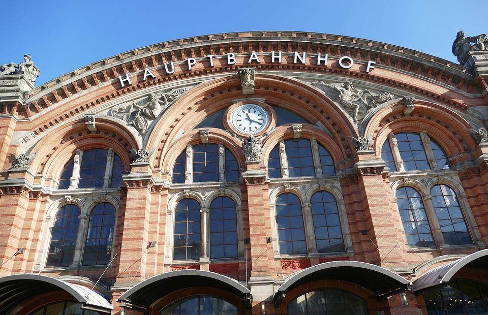 Bremen, Railway Station, Railway, Travel