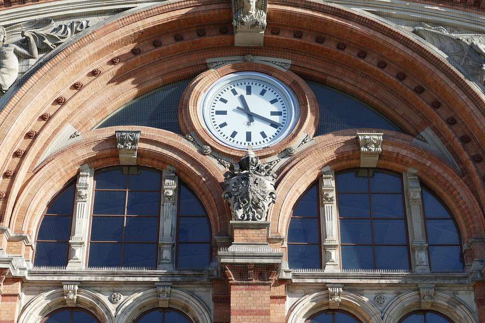 Bremen, Railway Station, Railway, Travel