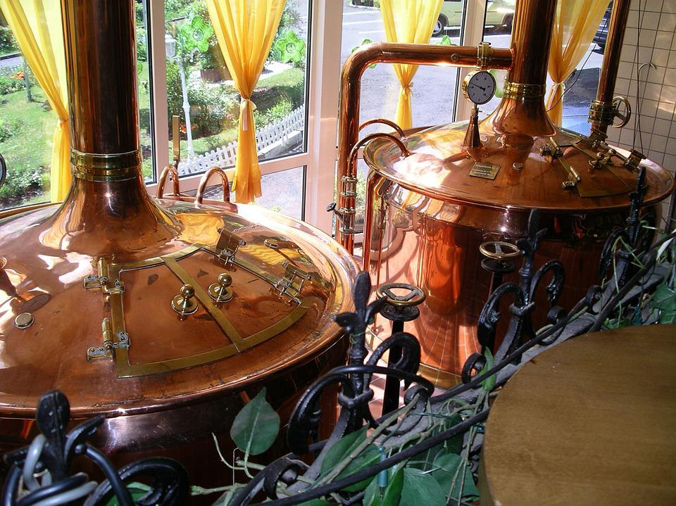 Beer, Alcohol, Brew, Brauer, Brewery, Copper Boiler