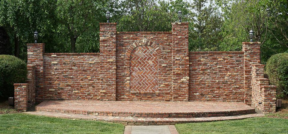 Background, Brick, Wall, Outdoor, Stage, Masonry
