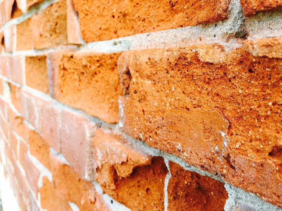 Brick, Wall, Concrete