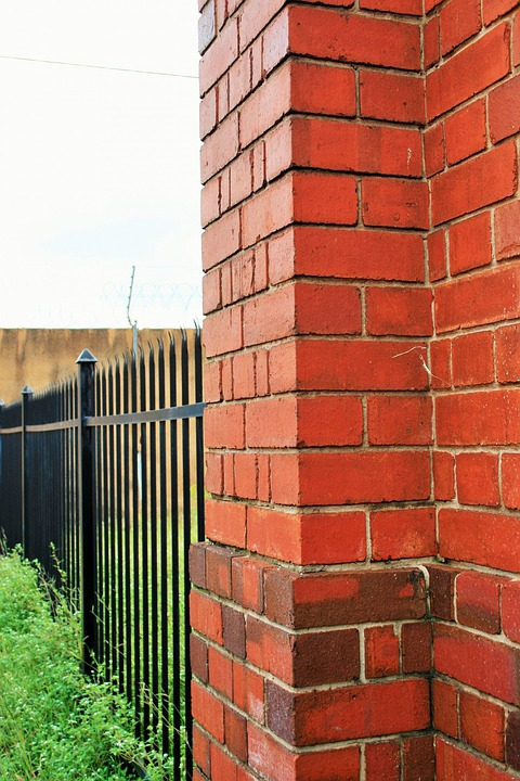 Wall, Brick, Fence, Block, Brickwork, Construction