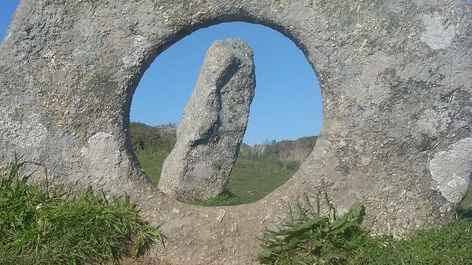 Men-an-tol, Brick, Cornwall, South Gland, Granite