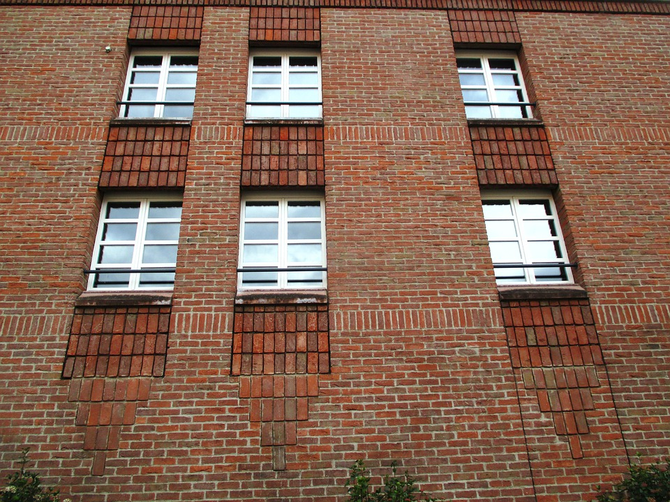 Architecture, Facade, Brick, Window, Hotel