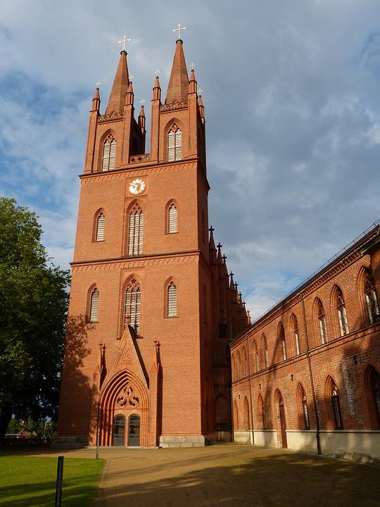 Dobbertin, Mecklenburg, Monastery, Brick Gothic, Brick
