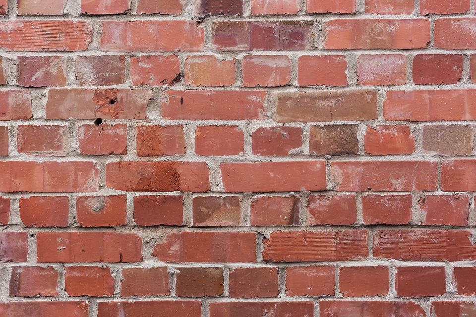 Brick, Wall, Background, Brick Wall, Red, Construction