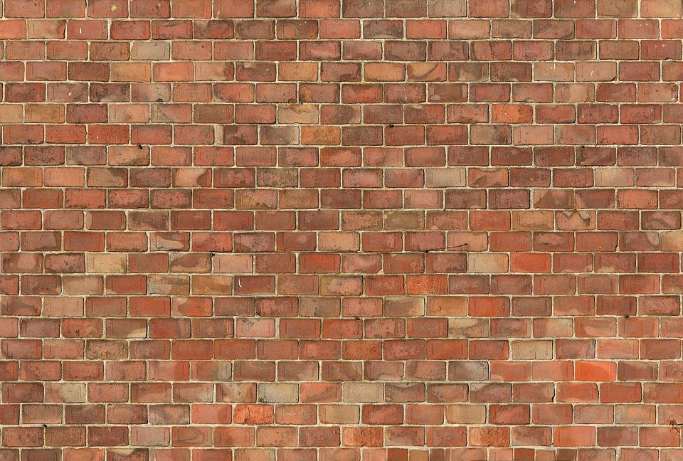 Wall Cement Pattern Brick Wallpaper