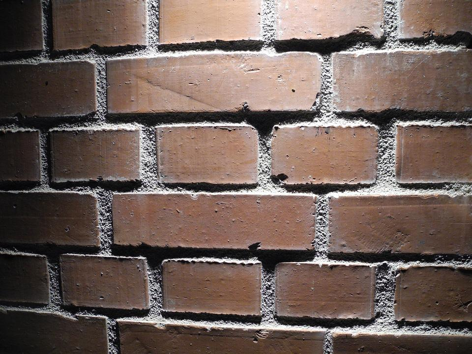Brick Wall, Light, Shadow, Background
