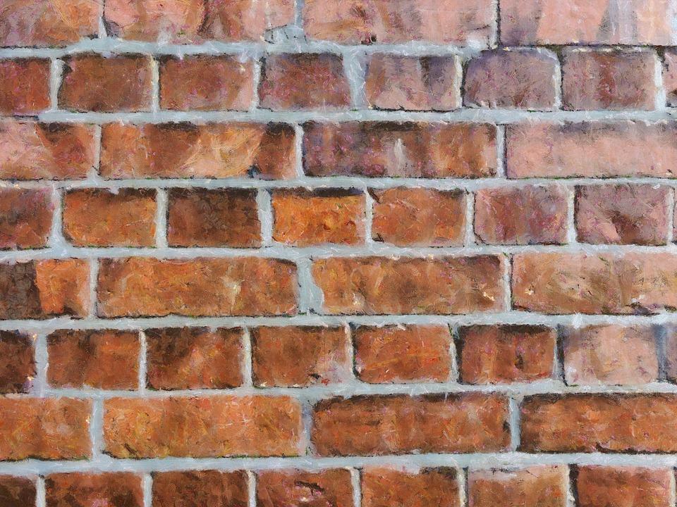 Brick Wall, Bricks, Stone Wall, Texture