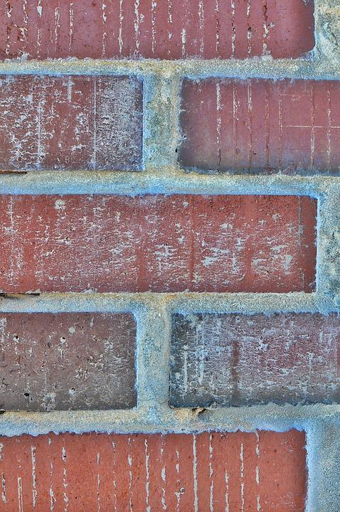 Brick, Texture, Red, Wall