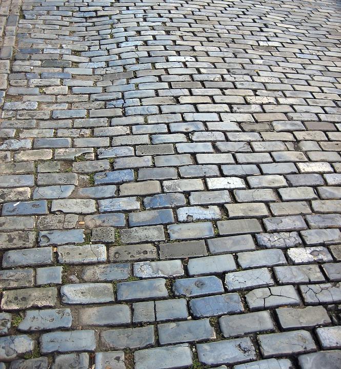Cobblestone, Cobblestones, Street, Bricks, Surface