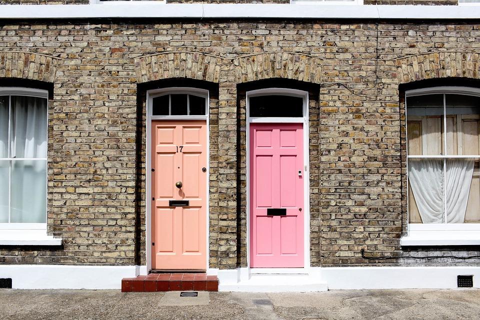 Pastel Orange Pink Doors Walls Stones Bricks & Free photo Bricks Orange Walls Pastel Doors Stones Pink - Max Pixel