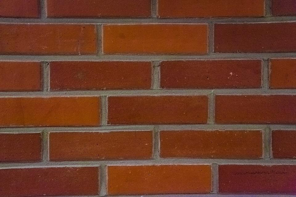 Brick Wall, Bricks, Red, Pattern, Construction, Close