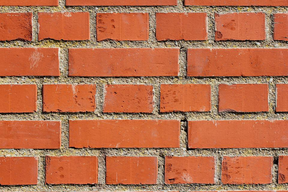 Bricks, Wall, Brick Wall, Red Brick Wall, Background