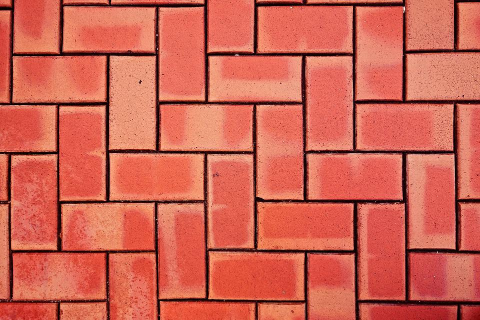 Brick, Paving, Brickwork, Street, Surface, Underfoot