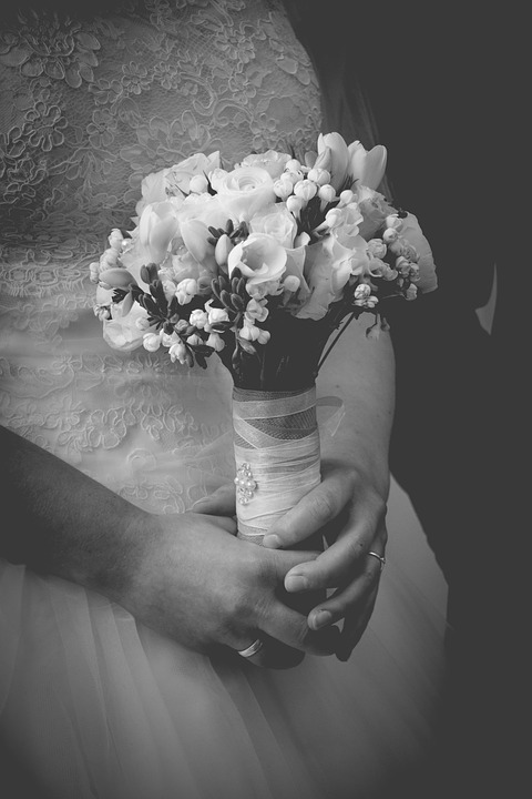 Wedding, Bride, Bridal Bouquet, Marry, Marriage, White
