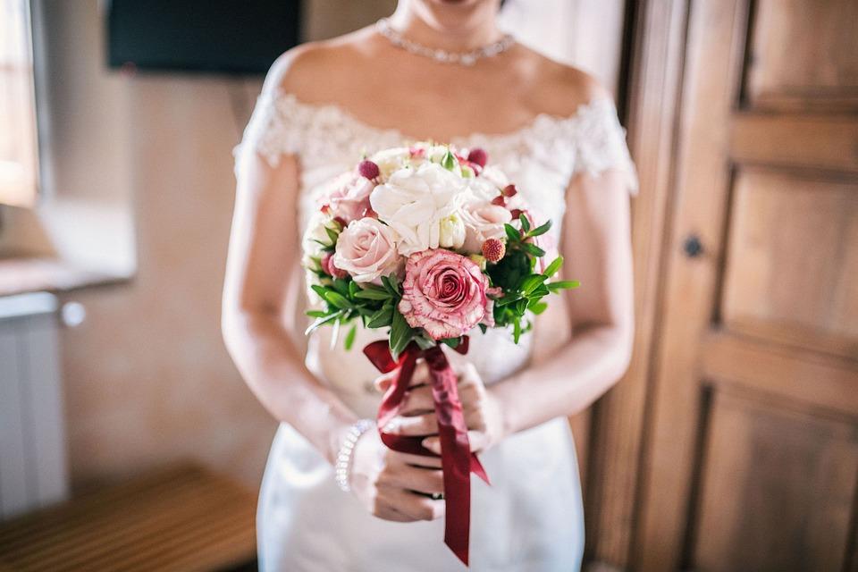 Bridal Bouquet, Wedding Bouquet, Bride, Wedding