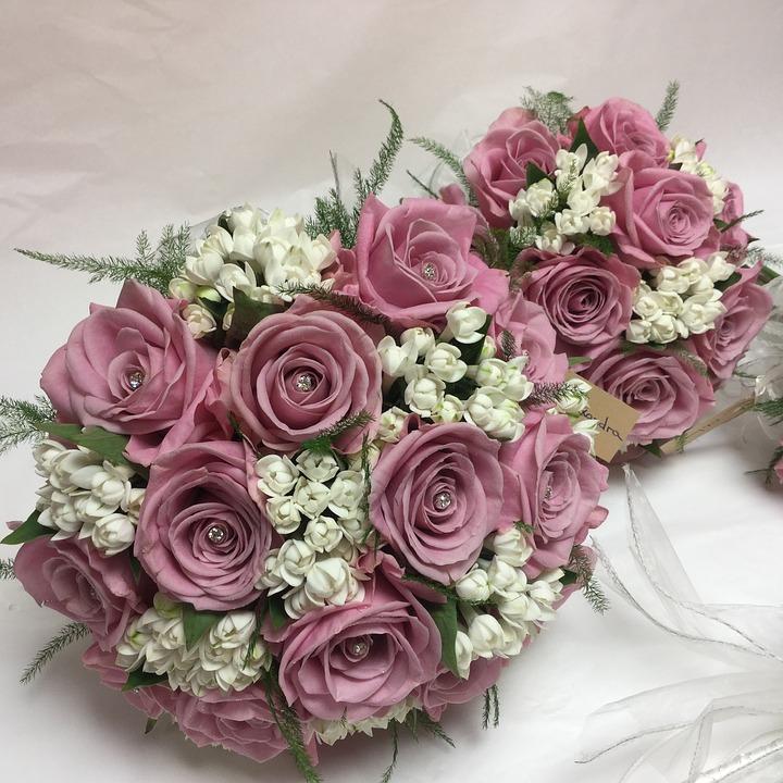 Bouquet, Flower Bouquet, Wedding Flowers, Bride, Bridal