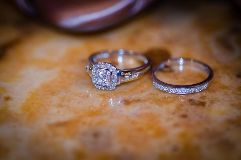 Bridal, Rings, Wedding, Marriage, Bride, Romance